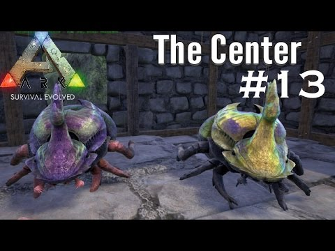 Ark Survival Evolved | The Center Map | Part 13| Dung Beetle Roundup