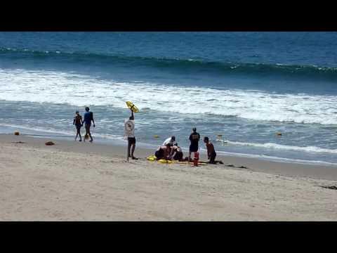 Beach in Santa Monica and DMZ-ZS3 HD test