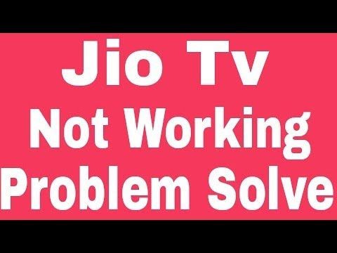 Jio Tv All Problem And Not Working Error Issues Problem Solve in Android