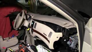 2003 Chevrolet Impala Dash Removal /Stereo Replacement