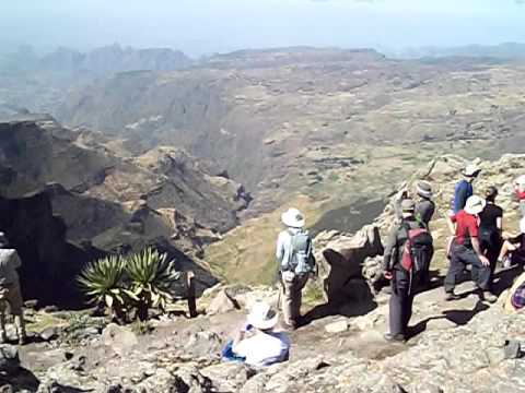 Views in the Simien Mountains, Ethiopia with KE Adventure Travel