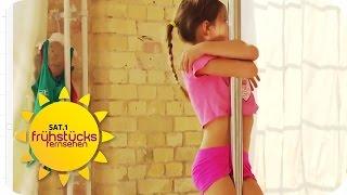 Kinder-Poledance | Frühstücksfernsehen