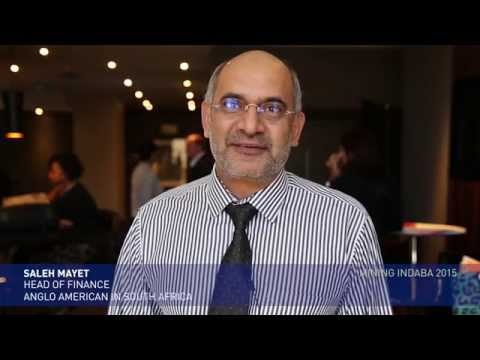 Saleh Mayet, our head of finance talks about the importance of the Mining Indaba