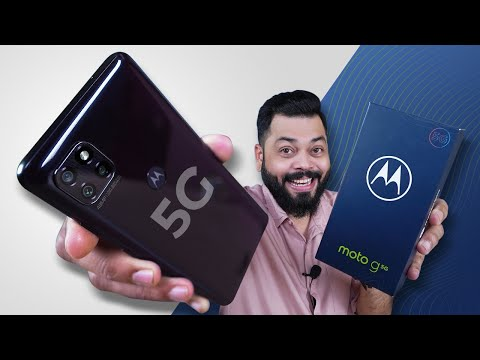 Moto G 5G Unboxing And First Impressions ⚡ Cheapest 5G Phone In India