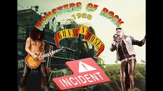Monsters Of Rock 1988 - The Guns N Roses Incident