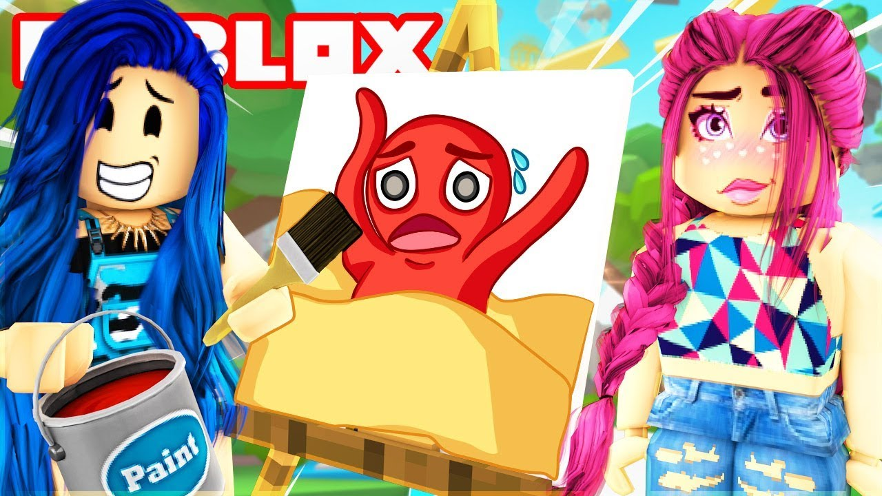 Draw My Thing In Roblox Youtube