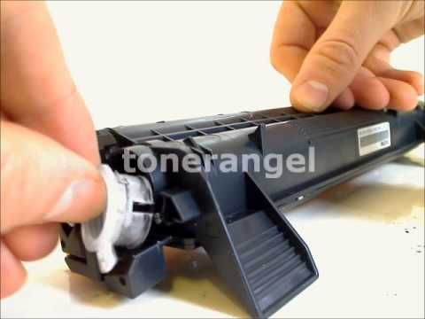 Refill and reset the Brother TN-1020 toner cartridge HL-1111, MFC-1811,DCP-1511