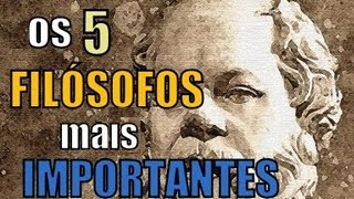 5 Grandes Filósofos Para Sua Redação De SUCESSO No Enem 2017.