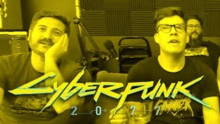 Funhaus reacts to Cyberpunk 2077 | E3 2018