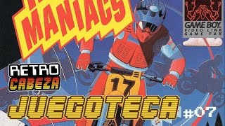 Juegoteca 07 - MOTOCROSS MANIACS para Game Boy