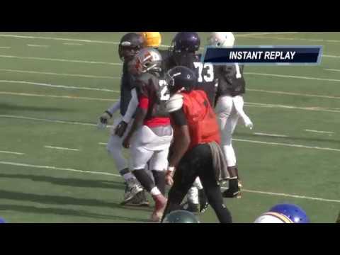 11.25.17 💥13U FBU Football  - Mississippi vs. South Georgia - 8th Grade Southeast Regional Round 1