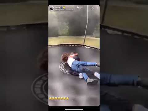 Anthony Joshua's Son Fighting