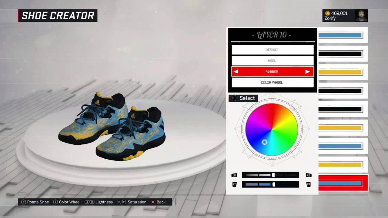 Nba Crazylight Shoe 2k17 Adidas Custom Creator Boost 2016 4A35jScRLq