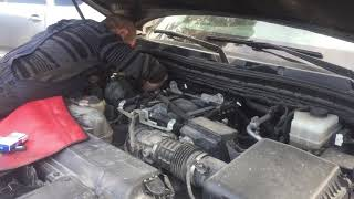 Регулировка клапанов после газа Infiniti QX56, садятся клапана!!!