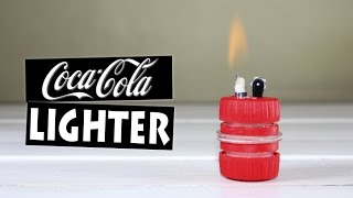 How to Make a Lighter Using Plastic Bottles | DIY Coca-Cola Lighter