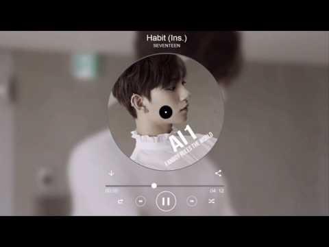 SEVENTEEN (세븐틴) - Habit (입버릇) Instrumental + Background Vocals