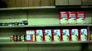 A view of the Food Shelf at the Hallie Q. Brown Local Foods Event Thumbnail