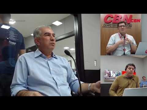 Entrevista CBN Campo Grande: Reinaldo Azambuja