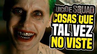 SUICIDE SQUAD Trailer - Cosas Que Tal Vez No Viste