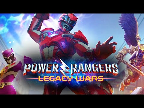 Power Rangers Legacy Wars ПЕРВЫЙ ВЗГЛЯД Gameplay  iOS