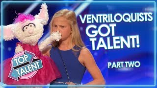 AMAZING VENTRILOQUISTS AND PUPPETS On Got Talent! Part Two | Top Talent