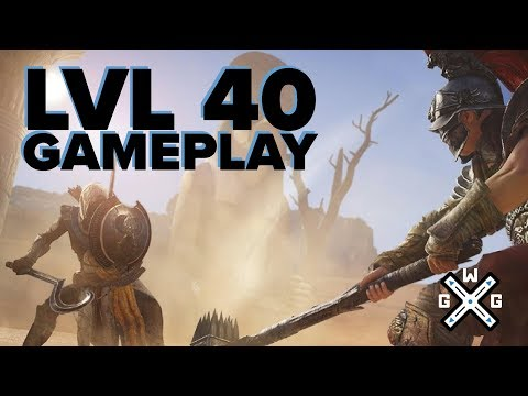 Assassin's Creed Origins - LVL 40 Endgame Impressions & Gameplay