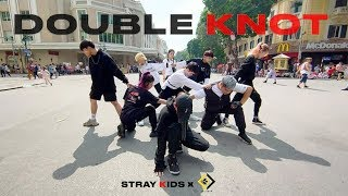 """[KPOP IN PUBLIC CHALLENGE] Stray Kids(스트레이 키즈) """"Double Knot"""" 