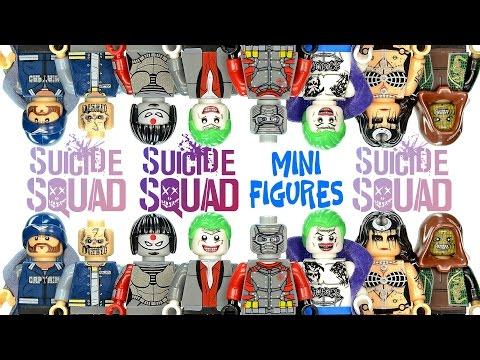 Lego Batman  Harley Quin Dead Shot Mini Figure Toys Super Heroes Games Big Legos