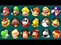 Super Mario Party Minigames - All Characters