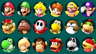Super Mario Party Minigames - All Characters thumbnail