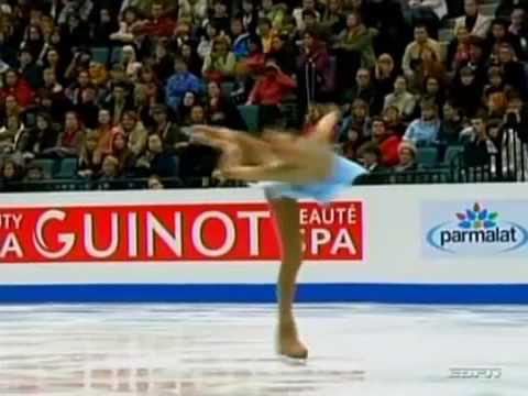 Olympic Figure Skating Champion Queen YUNA KIM  [  Yuna Spin (Yuna Camel)  ].mp4