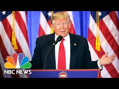 Donald Trump's First Press Conference as President-Elect: Top Moments   NBC News