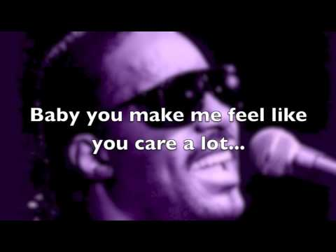 Stevie Wonder - I Love You Too Much (Live) (with lyrics)