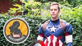 Cosplayer 2PlayerGame becomes Captain America - Marvel Becoming