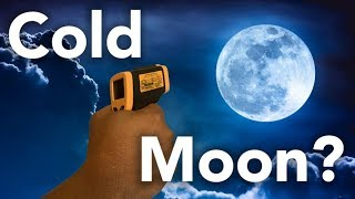 Is Moonlight Cold? Experimental Data Says...
