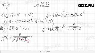 № 28.32 - Алгебра 10-11 класс Мордкович