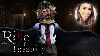 [ Rise of Insanity ] Impressive early access horror (Full playthrough)