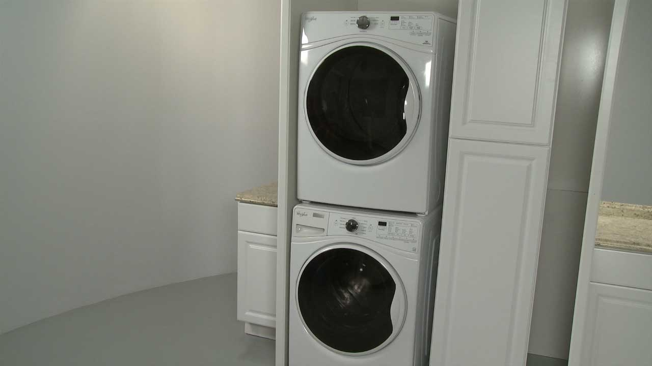 Add washer dryer hookups