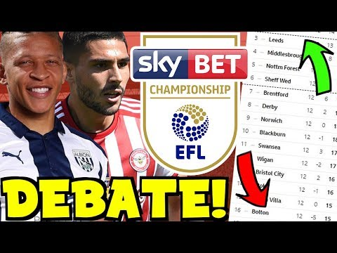 THE CHAMPIONSHIP PROMOTION & RELEGATION DEBATE! HOW HAS YOUR CLUB DONE SO FAR THIS SEASON?!
