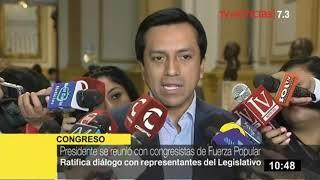"""Violeta sobre reunión entre presidente y FP: """"Miguel Castro fue quien me llamó en nombre de ellos"""""""