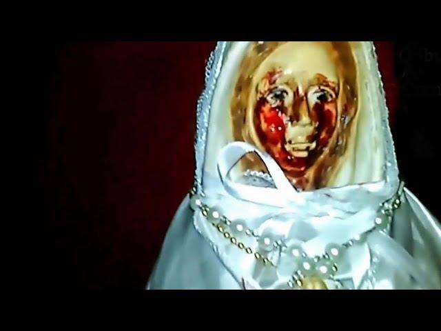 Una estatua de la Virgen María vuelve a llorar lágrimas de sangre en Argentina, y ya van 38 veces