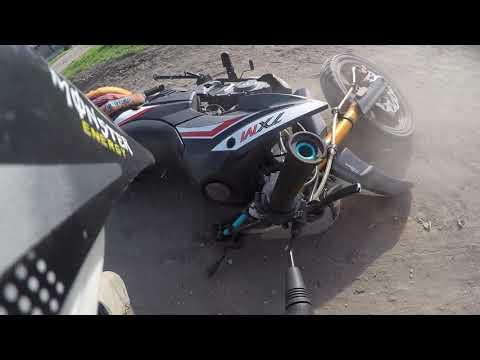 Keeway txm 125 2016 crash
