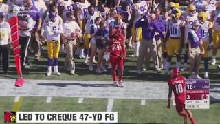 LSU vs Louisville Buffalo Wild Wings Citrus Bowl Highlights 2016