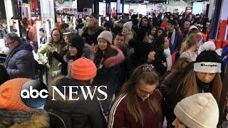 Black Friday shopping frenzy kicks off