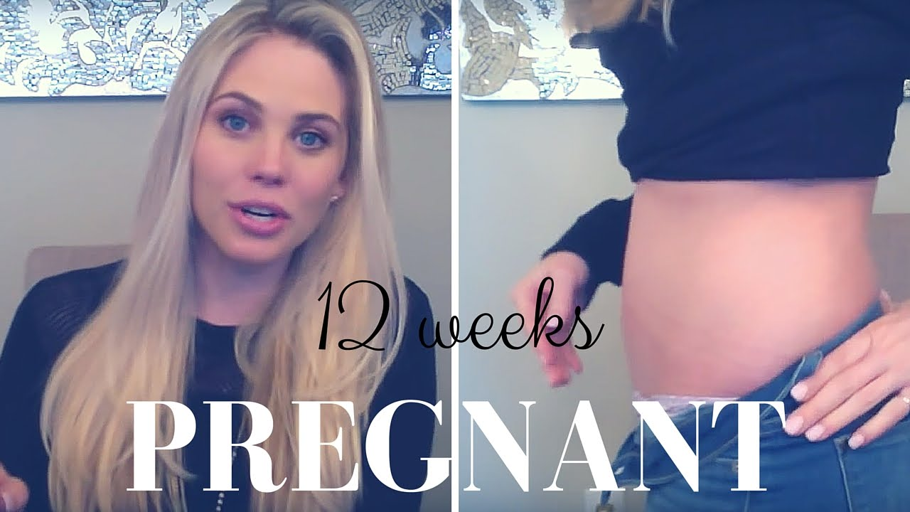 12 Weeks Pregnant (First Pregnancy)