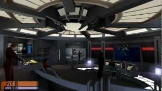 Star Trek Voyager: Elite Force Walkthrough Mission Two ***Unavoidable Delays*** (1080p FULL HD)
