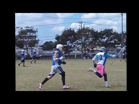Lacrosse Costa Rica Highlights Field Game Coro/Metro vs Aranjuez Gents