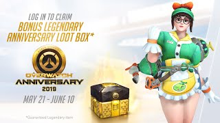 Overwatch Seasonal Event | Overwatch Anniversary 2019