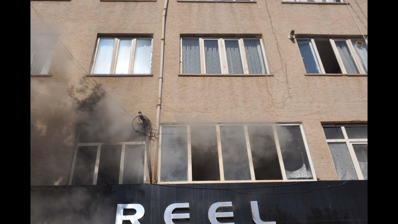 Yangında Dumandan Etkilenen 5 Suriyeli Tedavi Altına Alındı
