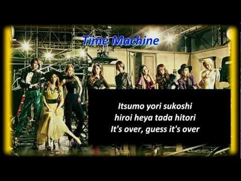 Girls Generation(SNSD) - Time Machine karaoke instrumental